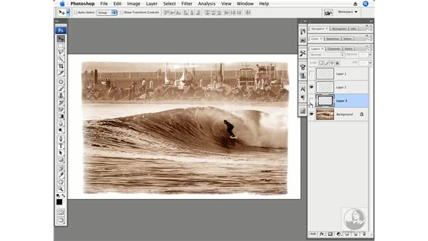 PhotoFrame plug-in part 4 - Combining multiple frames: Photoshop CS3 Creative Photographic Techniques