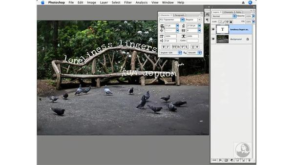 Loneliness: Photoshop CS3 Creative Photographic Techniques