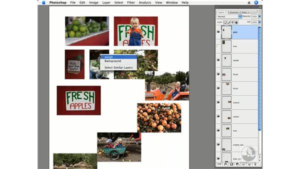 Apple picking part 1 - Layout: Photoshop CS3 Creative Photographic Techniques