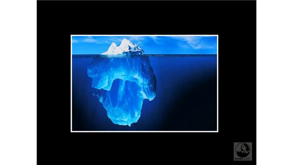The Iceberg - Ralph Clevenger: Photoshop CS3 Creative Photographic Techniques