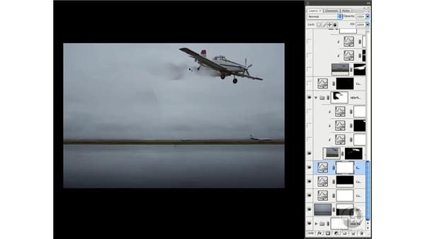 Deconstructing a realistic composite part 1 - The airplane: Photoshop CS3 Creative Photographic Techniques