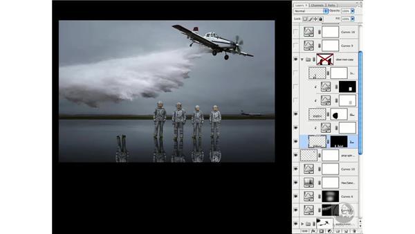 Deconstructing a realistic composite part 2 - The firefighters: Photoshop CS3 Creative Photographic Techniques