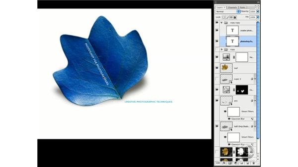 Creating different versions: Photoshop CS3 Creative Photographic Techniques