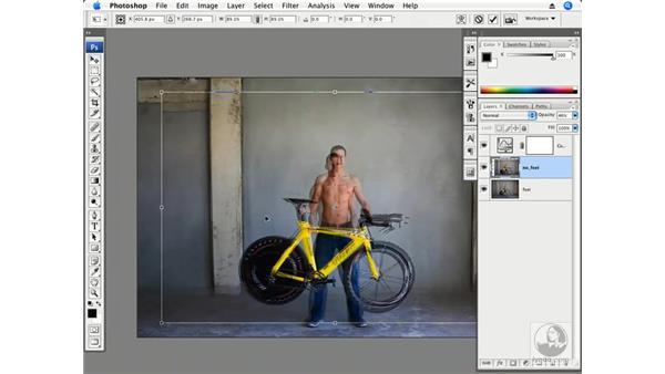 Athlete part 1 - Setting the stage: Photoshop CS3 Creative Photographic Techniques