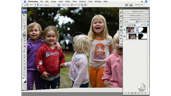 Kids - Auto-Align and Auto-Blend: Photoshop CS3 Creative Photographic Techniques