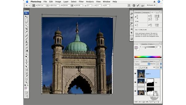 Vertical architecture exterior - Auto-Align and Auto-Blend: Photoshop CS3 Creative Photographic Techniques