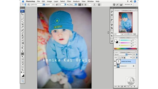 Modifying Type: Photoshop CS3 Creative Photographic Techniques