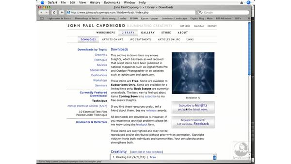 Test-print file resources - Downloads: Photoshop CS3 Creative Photographic Techniques