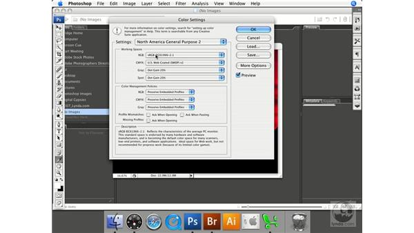 RGB setup: Photoshop CS3 Prepress Essentials