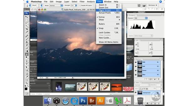 Navigating images using the keyboard: Photoshop CS3 Prepress Essentials