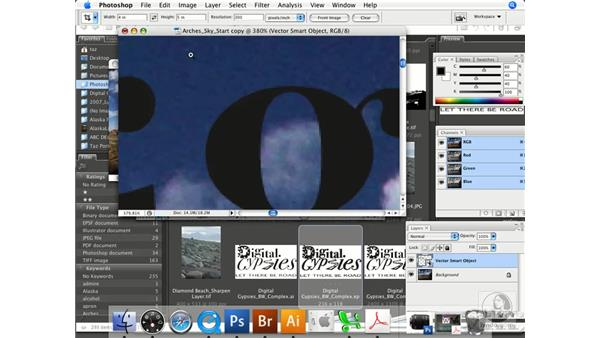 Working with vectors as Smart Objects: Photoshop CS3 Prepress Essentials