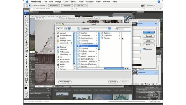 Creating in duotone: Photoshop CS3 Prepress Essentials