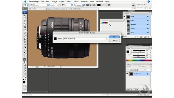 Creating rich blacks: Photoshop CS3 Prepress Essentials