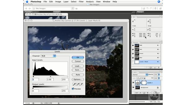 Setting highlights and shadows: Photoshop CS3 Prepress Essentials