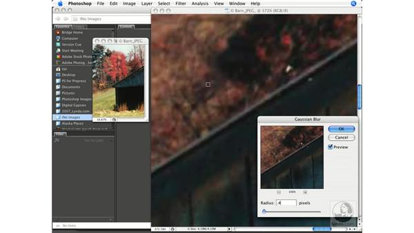 Correcting JPEG posterization: Photoshop CS3 Prepress Essentials