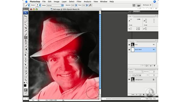 Removing dust and scratches: Photoshop CS3 Prepress Essentials