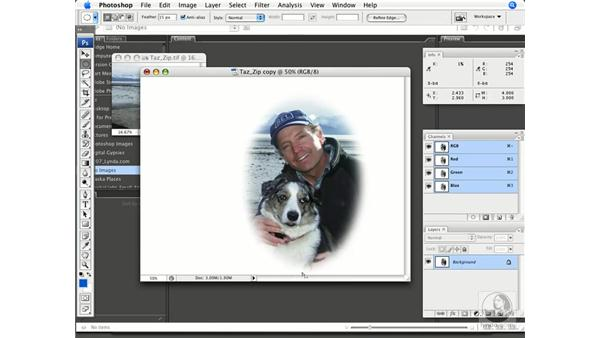 Creating vignettes: Photoshop CS3 Prepress Essentials