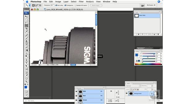Creating Hard Edge silhouettes: Photoshop CS3 Prepress Essentials