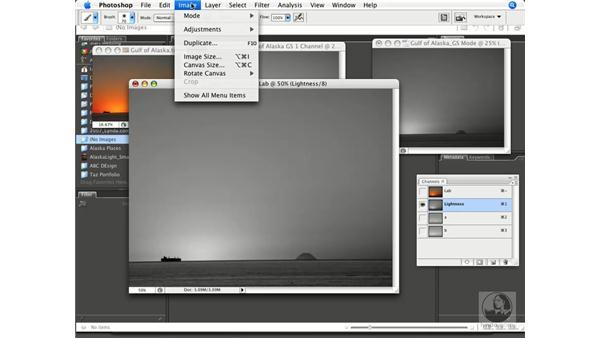 RGB to grayscale fundamentals: Photoshop CS3 Prepress Essentials