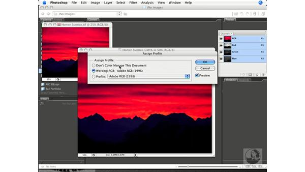 Converting RGB to CMYK with custom profiles: Photoshop CS3 Prepress Essentials