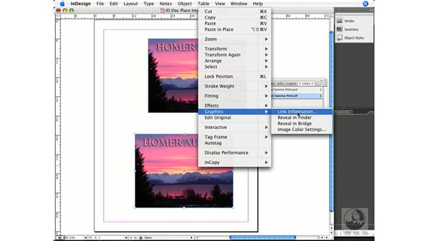 Working with placed Photoshop documents in InDesign: Photoshop CS3 Prepress Essentials