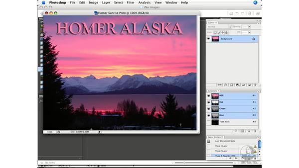 Simplifying images: Photoshop CS3 Prepress Essentials