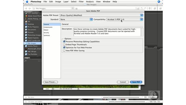 Creating PDFs: Photoshop CS3 Prepress Essentials