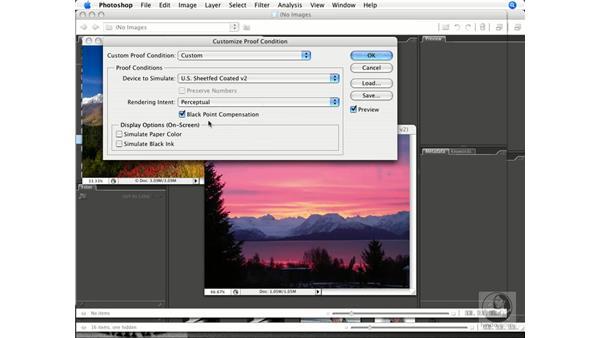 Soft proofing: Photoshop CS3 Prepress Essentials