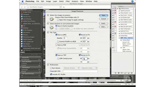 Using Bridge and the Image Processor: Photoshop CS3 Prepress Essentials