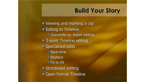 Keyboard shortcuts for editing: Final Cut Pro 6 Essential Editing