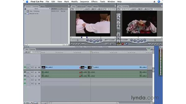 Three sides to an edit: Final Cut Pro 6 Essential Editing