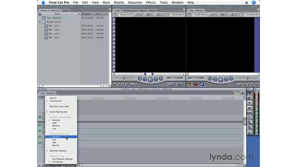 Working with Dynamic RT and Unlimited RT: Final Cut Pro 6 Essential Editing
