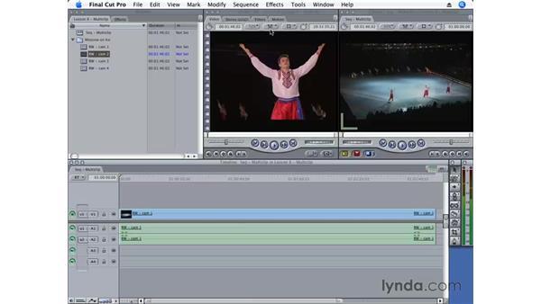 Understanding playhead sync: Final Cut Pro 6 Essential Editing