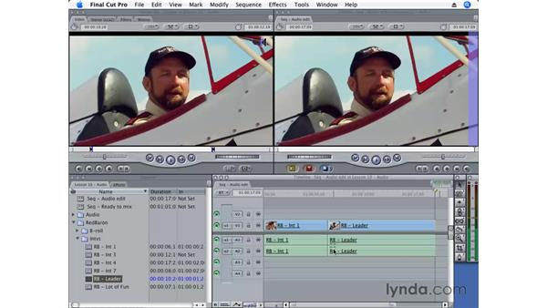 Understanding linked clips: Final Cut Pro 6 Essential Editing