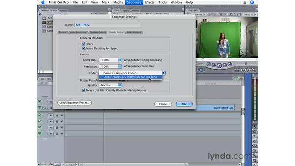 ProRes 422: Final Cut Pro 6 Essential Editing