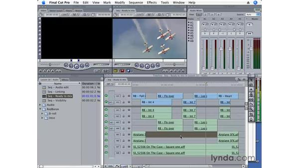 Exporting with multichannel output: Final Cut Pro 6 Essential Editing