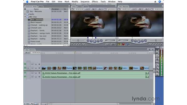 Changing timecode: Final Cut Pro 6 Essential Editing