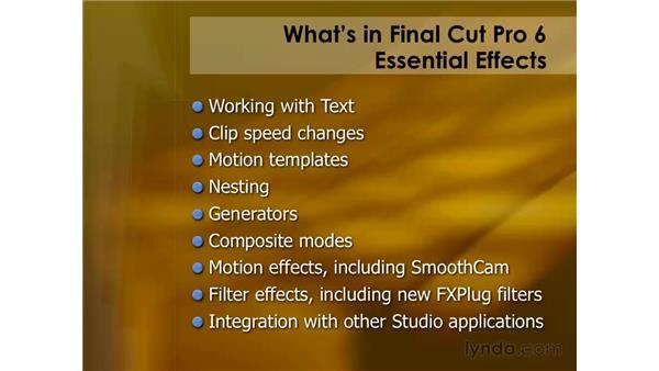 Goodbye: Final Cut Pro 6 Essential Editing