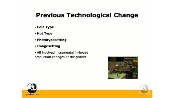 The history of digital prepress: InDesign CS3 Prepress Essentials