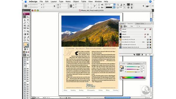 Assigning colors: InDesign CS3 Prepress Essentials