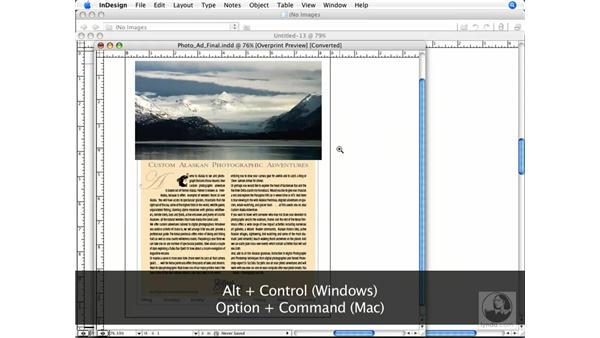 Navigating through your document: InDesign CS3 Prepress Essentials
