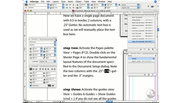 Accessing OpenType character sets: InDesign CS3 Prepress Essentials
