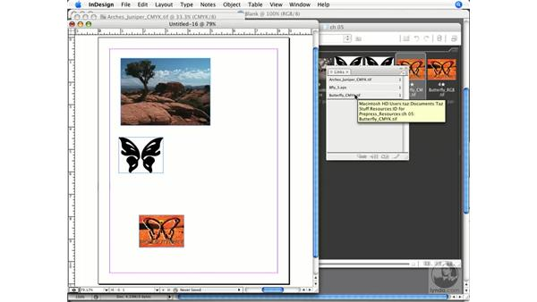 Adding Photoshop and Illustrator images to InDesign: InDesign CS3 Prepress Essentials