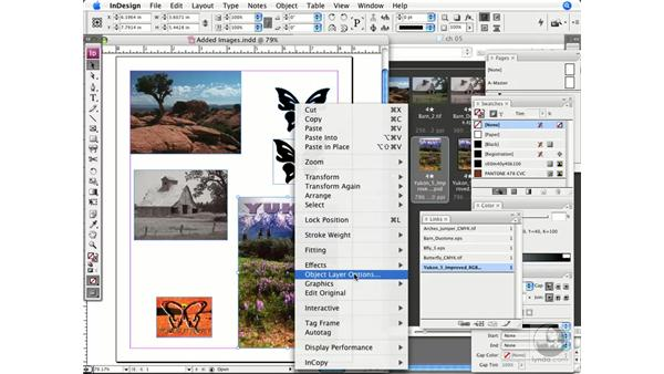 Working with Photoshop (.psd) images: InDesign CS3 Prepress Essentials
