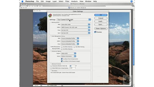 Checking and changing image color settings: InDesign CS3 Prepress Essentials