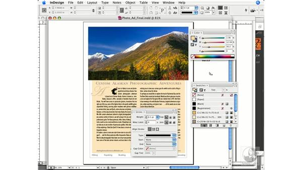 Setting up your color panels: InDesign CS3 Prepress Essentials