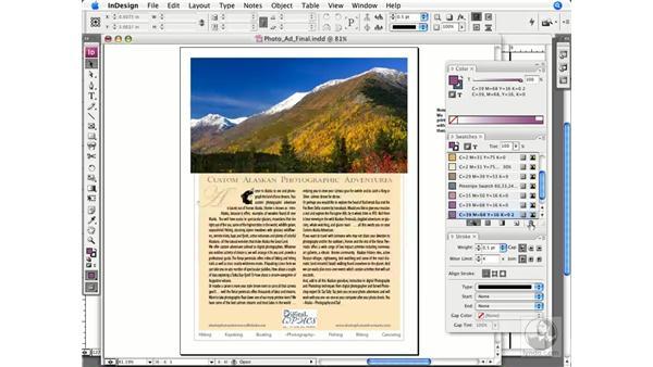 Assigning process colors: InDesign CS3 Prepress Essentials