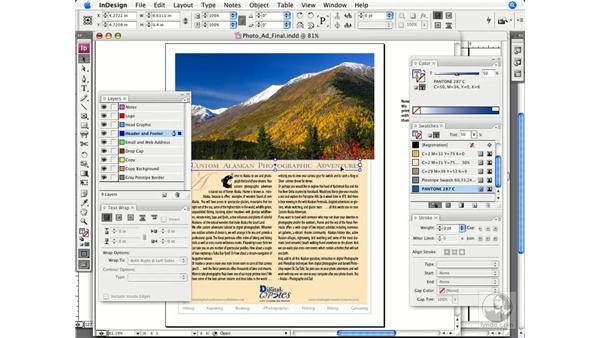 Importing colors: InDesign CS3 Prepress Essentials