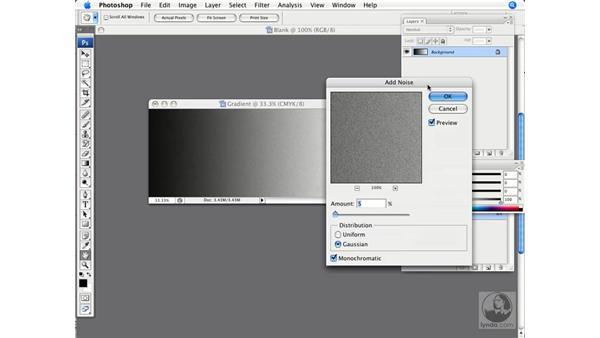 Photoshop gradients and blends: InDesign CS3 Prepress Essentials