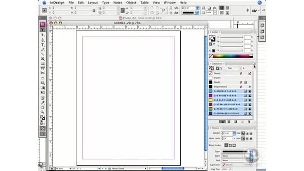 Sharing colors with the Creative Suite: InDesign CS3 Prepress Essentials
